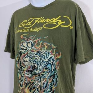 Ed Hardy Tops - Christina Aguilera Ed Hardy T-shirt